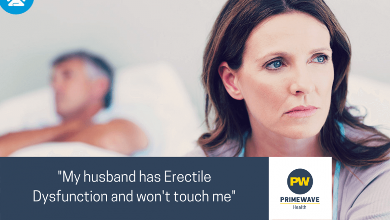 My Husband Has Erectile Dysfunction and Won't Touch Me